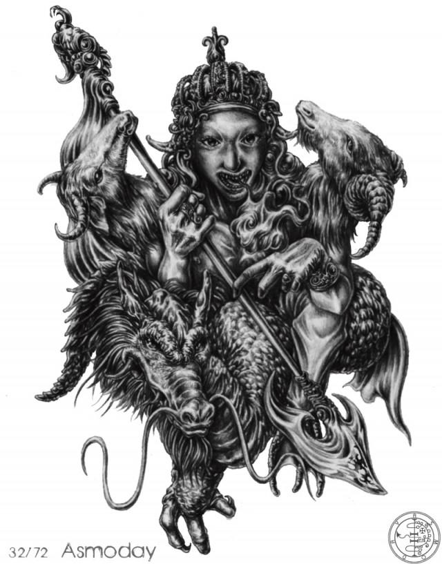 Số 5: Asmoday ,vua solomon,ma quỷ,tâm linh,kinh dị