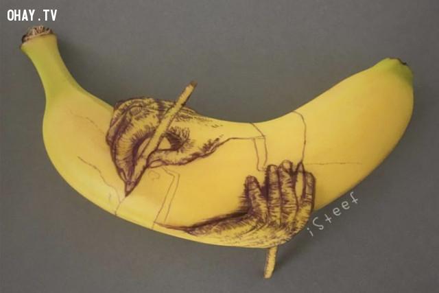 ,sáng tạo,quả chuối,Stephan Brusche