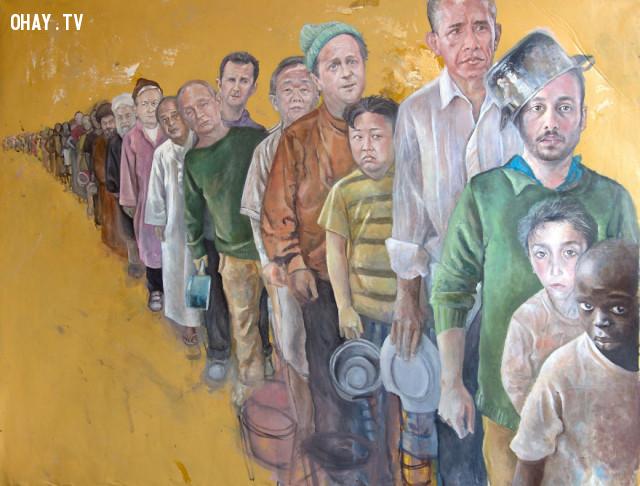 #5 Các nhà lãnh đạo trong đoàn người tị nạn,người tị nạn,người nhập cư,Abdalla Al Omari