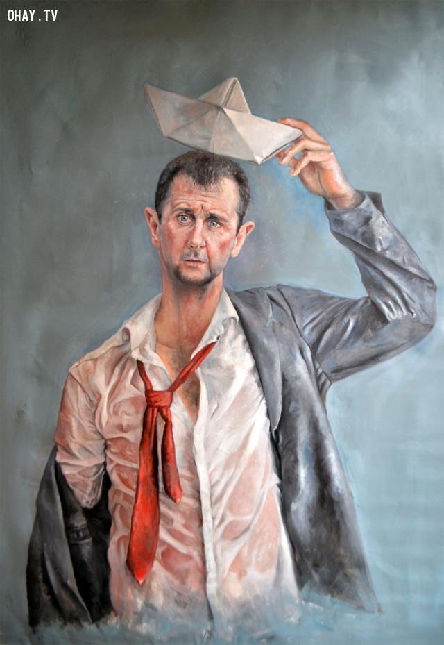 #12 Tổng thống Syria Bashar Al-assad,người tị nạn,người nhập cư,Abdalla Al Omari