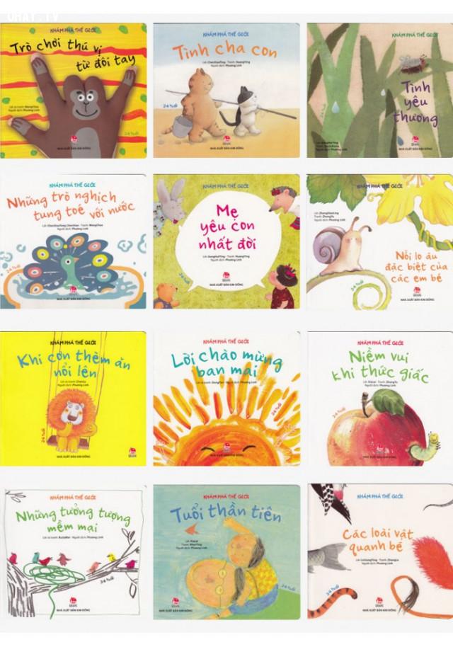 """8. Bộ sách """"Khám phá thế giới"""" với những câu chuyện vô cùng thú vị,sách dạy con,sách hay,cách dạy con"""