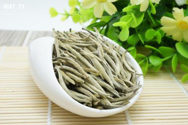 4. Trà trắng,tác dụng của trà xanh,các loại trà