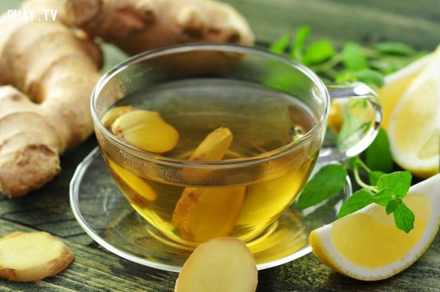 3. Trà gừng,tác dụng của trà xanh,các loại trà