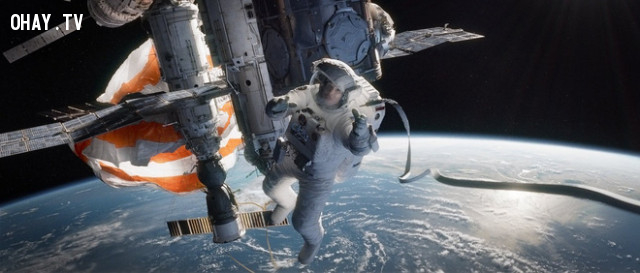 3. Gravity (2013),phim kinh dị,phim hay
