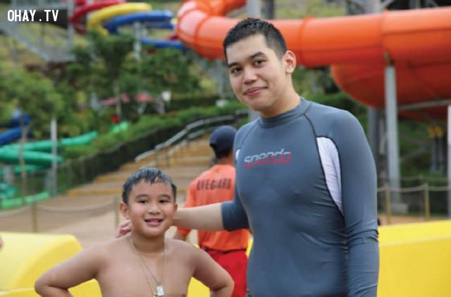 5. Bimby Yap và Joshua Aquino,triệu phú,tỉ phú nhỏ tuổi,showbiz