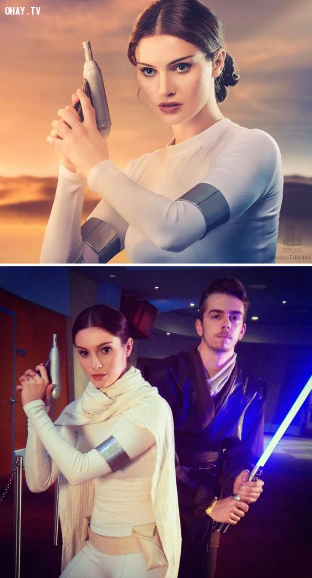 #14Nữ hoàng Padmé Amidala trong series Star Wars,cosplay,Alyson Tabbitha
