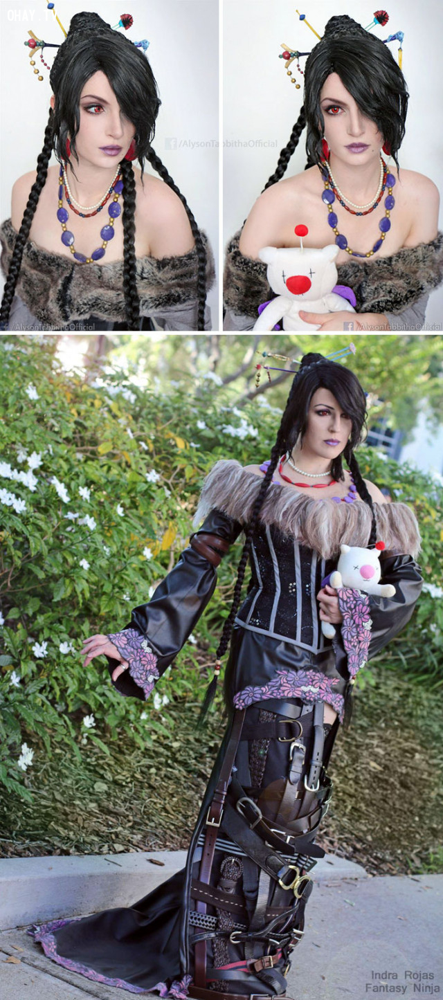 #17 Lulu trong Final Fantasy X,cosplay,Alyson Tabbitha