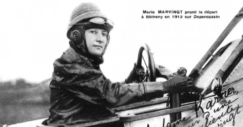 10 nữ phi công đầu tiên trên thế giới