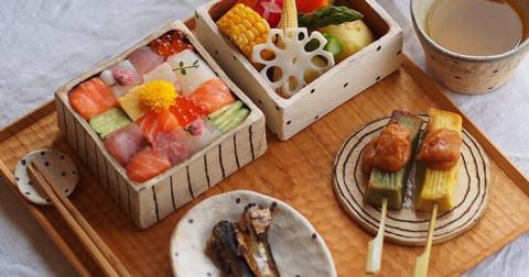 Mosaic sushi - Ngon từ cái nhìn đầu tiên