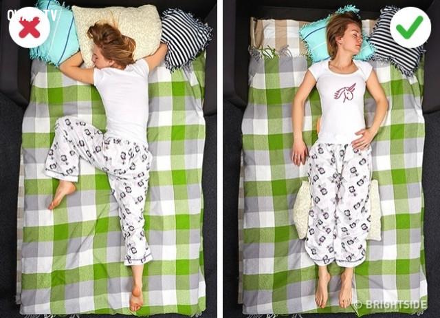 2. Đau lưng,cải thiện giấc ngủ,cải thiện sức khỏe,tư thế ngủ,mẹo sức khỏe