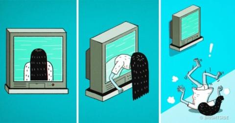 12 cách hài hước để đối phó với các bộ phim kinh dị
