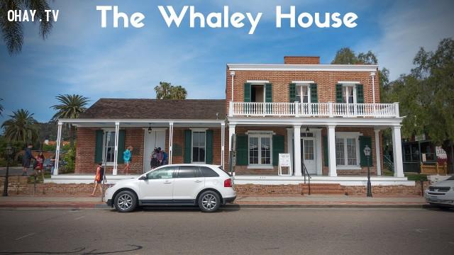 Ngôi nhà thứ 6 là The Whaley House,nhà bị ma ám,kinh dị,ma quỷ