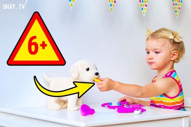 Đồ chơi bác sĩ,nuôi dạy con cái,đồ chơi có hại,đồ chơi cho trẻ