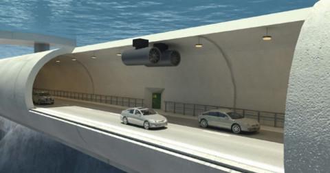 Cầu lơ lửng dưới nước được xây dựng tại Na Uy