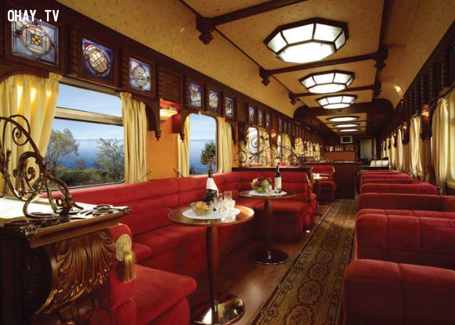 ,tàu hỏa cao cấp,tàu du lịch,du lịch bằng tàu hỏa,tàu hỏa sang trọng