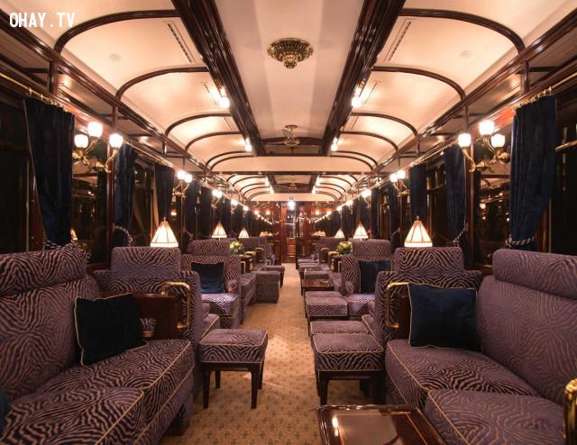 3, Từ London đến Venice: Chuyến tàu Venice Simplon-Orient-Express,tàu hỏa cao cấp,tàu du lịch,du lịch bằng tàu hỏa,tàu hỏa sang trọng