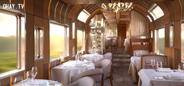4, Tại Nhật Bản: Chuyến tàu Shiki-Shima,tàu hỏa cao cấp,tàu du lịch,du lịch bằng tàu hỏa,tàu hỏa sang trọng