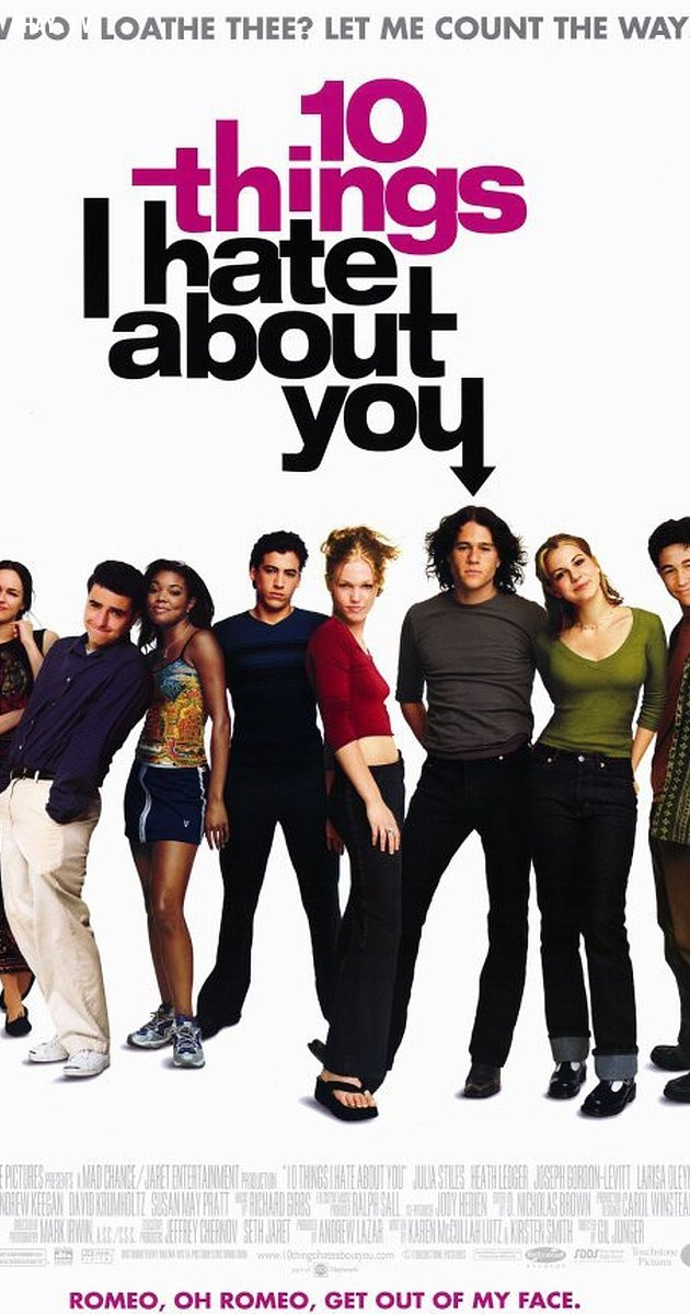 10 Things I Hate About You (1999),phim lãng mạn,phim hay
