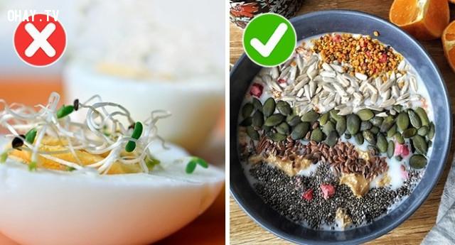 4. Rau nảy mầm,thực phẩm,sử dụng sai cách