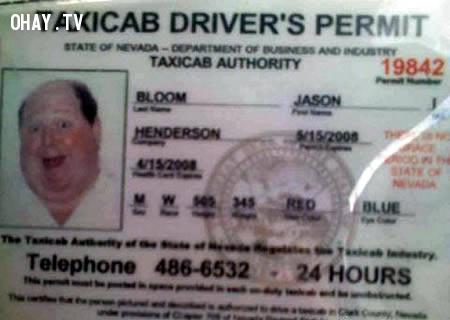 Lái xe taxi vui vẻ nhất từ trước tới giờ,chứng minh nhân dân,tên chứng minh hài hước