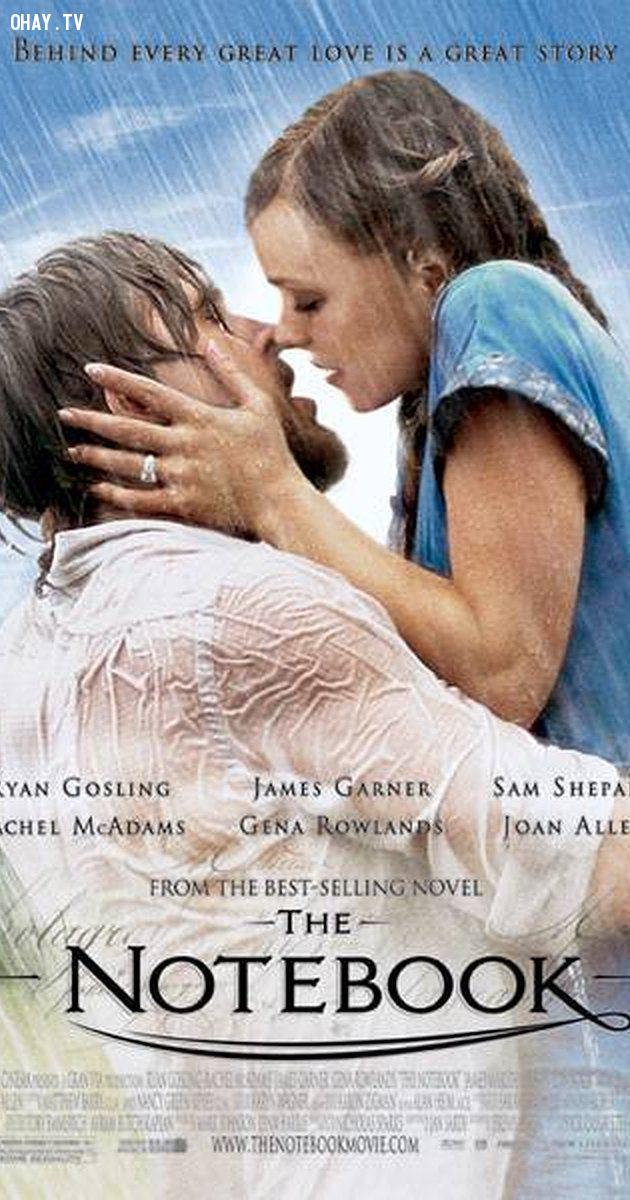 The Notebook (2004),phim hay,phim lãng mạn,bài học rút ra từ phim ảnh