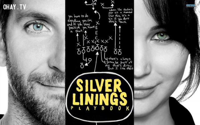 Silver Linings Playbook (2012),phim hay,phim lãng mạn,bài học rút ra từ phim ảnh