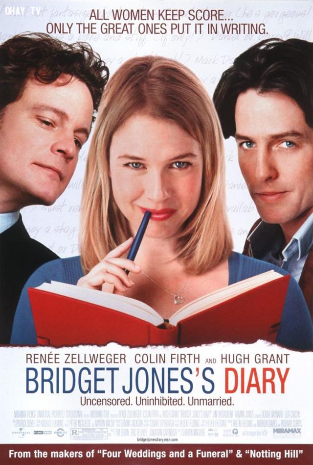 Bridget Jones's Diary (2001),phim hay,phim lãng mạn,bài học rút ra từ phim ảnh