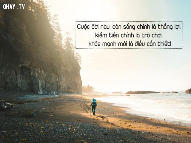Con người sống trên đời, kỳ thực cũng không cần nhiều thứ lắm..,câu nói hay về cuộc sống,stt hay,stt tâm trạng,stt hay về cuộc sống