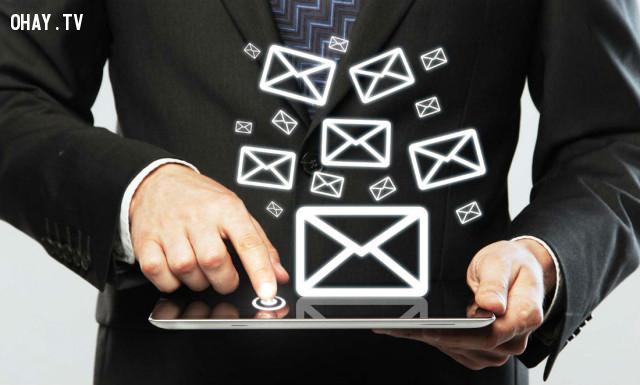 2 phút để gửi đi 1 email tích cực,buổi sáng,làm việc hiệu quả,cách sống tốt