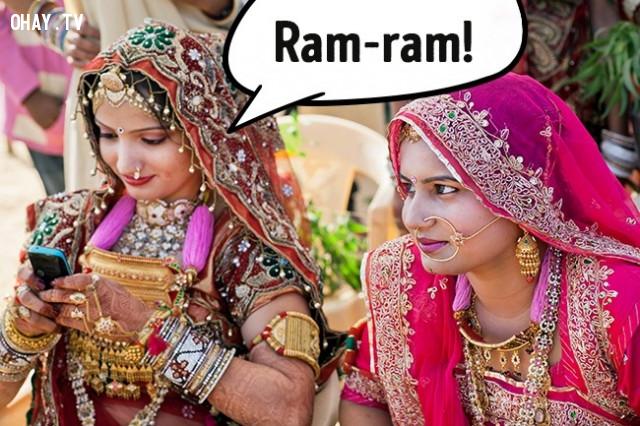 Ấn Độ ,cách chào hỏi ở các quốc gia