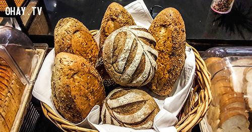 3. Bánh mì nâu,bánh mì giảm cân