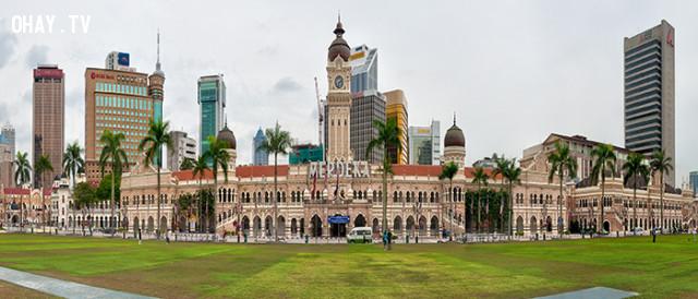 Nơi tuyên bố độc lập,malaysia,những điều thú vị trong cuộc sống