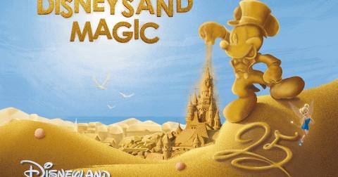 Công viên cát 'Disney Sand Magic' đã sẵn sàng chào đón quý khách