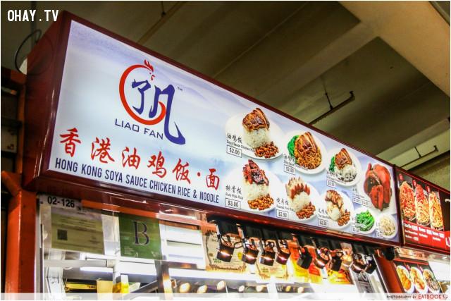 ,du lịch singapore,ẩm thực singapore,ăn gì ở singapore,ăn gì khi đến singapore,ngôi sao michelin,quán hàng ăn Lian Fan