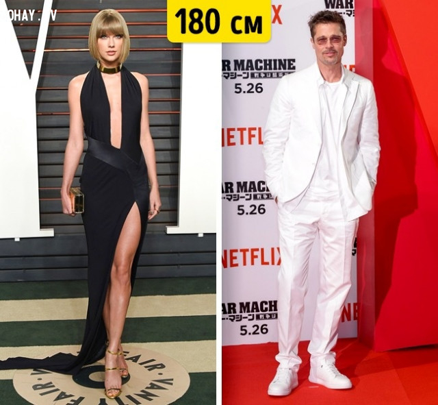 Taylor Swift và Brad Pitt,
