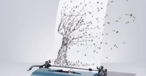 Ấn tượng với những bức tranh được vẽ bằng máy đánh chữ