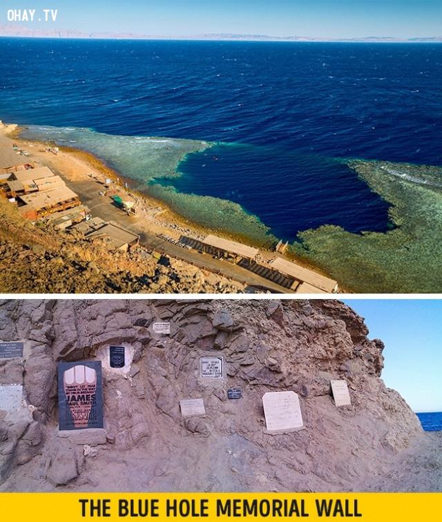 Blue Hole, Dahab,vẻ đẹp chết người,vùng nguy hiểm