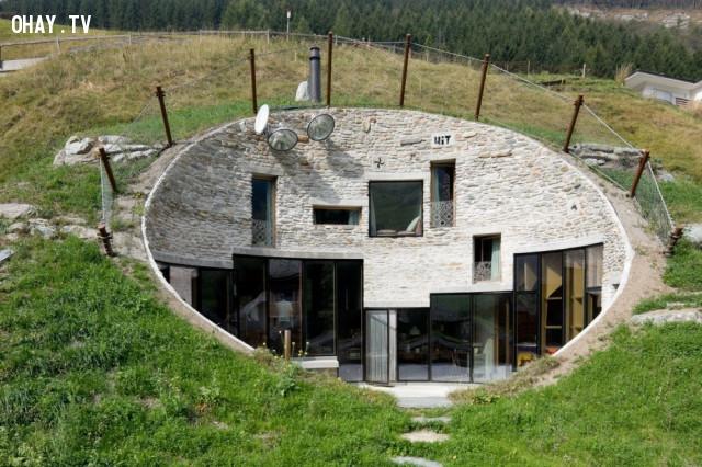 5. Biệt thự Vals ở Vals, Thụy Sĩ,kiến trúc độc đáo,nhà đẹp,nhà thiết kế độc đáo