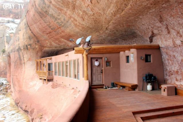 4. Lâu đài Canyon ở Utah, Hoa Kỳ,kiến trúc độc đáo,nhà đẹp,nhà thiết kế độc đáo