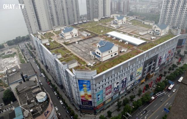 3. Nhà trên nóc của một trung tâm mua sắm ở Hồ Nam, Trung Quốc,kiến trúc độc đáo,nhà đẹp,nhà thiết kế độc đáo