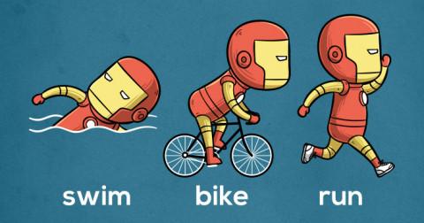 Khi các siêu anh hùng đi thi Olympic