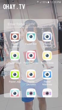 Pastel (Android),ứng dụng chỉnh màu cho điện thoại,app chỉnh màu,app chỉnh hình đẹp