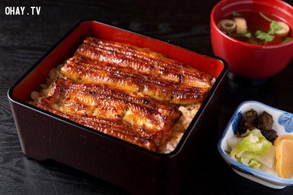 Unagidon,ẩm thực đại chúng,ẩm thực nhật bản,du lịch nhật bản,văn hóa nhật bản