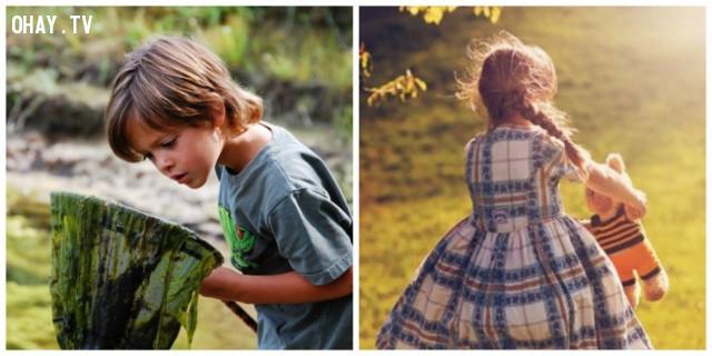 4. Dạy trẻ những trò chơi có thể chơi một mình,cách dạy con,sự chờ đợi