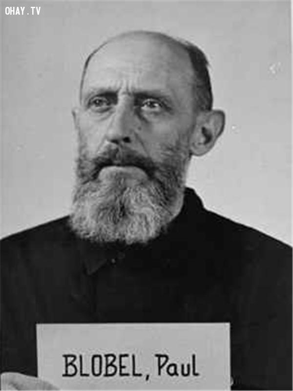 Paul Blobel,diệt chủng,đế chế thứ 3