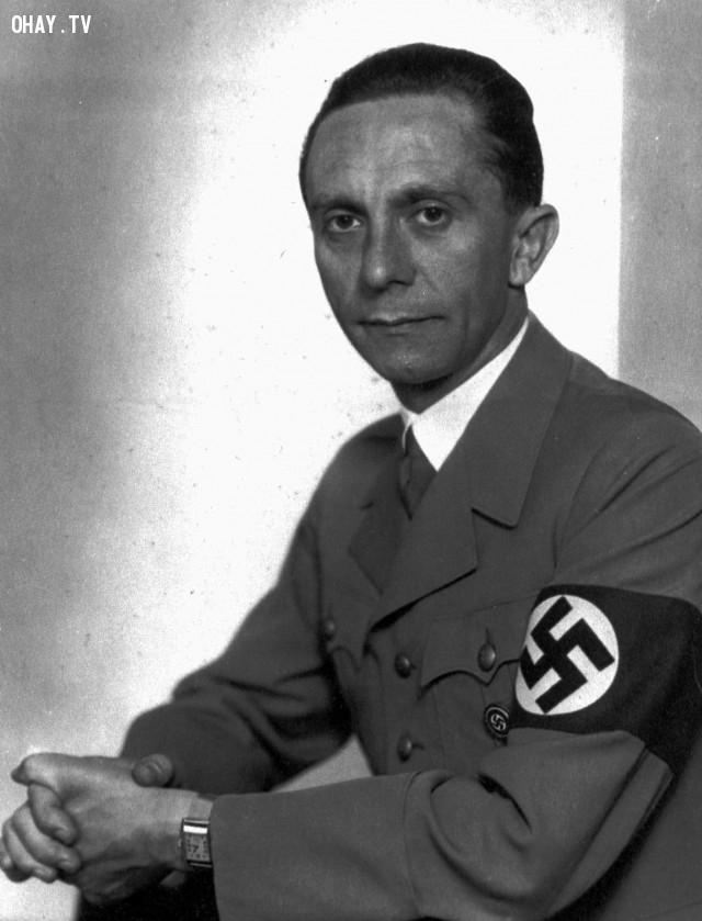 Joseph Goebbels,diệt chủng,đế chế thứ 3