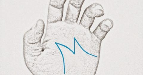 Sự thật về đường chỉ tay hình chữ M