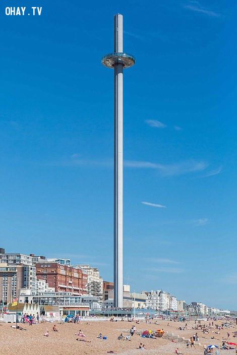 2. Đài quan sát British Airways i360,kiến trúc độc đáo