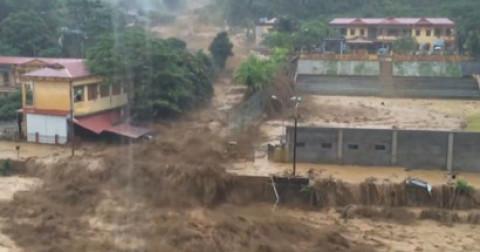 Lũ quét kinh hoàng tại xã Mù Cang Chải - Yên Bái