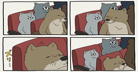 Nếu tâm trạng bạn đang tồi tệ, bộ tranh hài hước này sẽ khiến bạn bật cười ngay